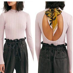 FREE PEOPLE Party On The Back Top in Lilac